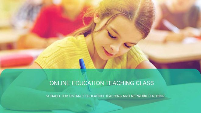 online education ppt template free powerpoint templates and google