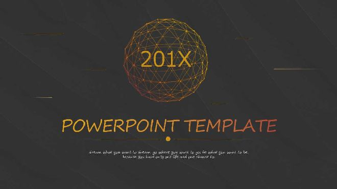 Black Technology Theme Ppt Template Free Powerpoint Templates And