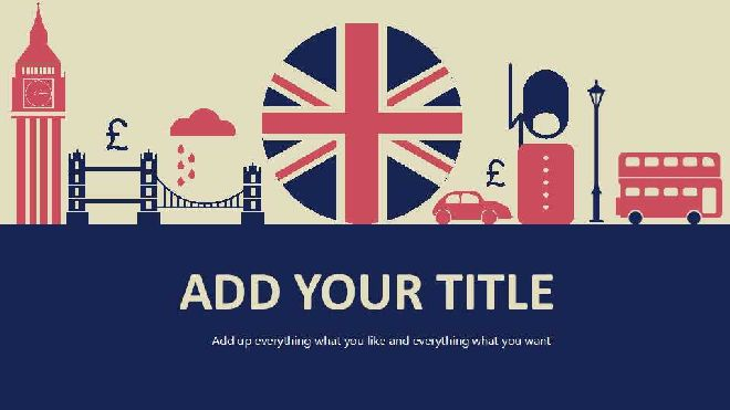 Retro British Style Ppt Templatefree Powerpoint Templates And