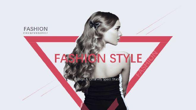 Women Fashion Powerpoint Template Best Powerpoint Templates