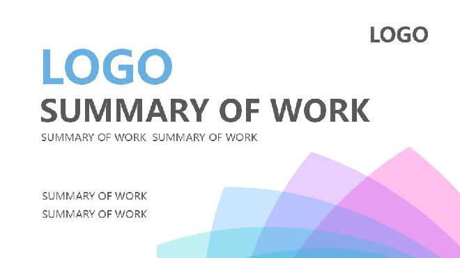 SUMMARY OF WORK PPT TEMPLATE_Free powerpoint templates and google ...