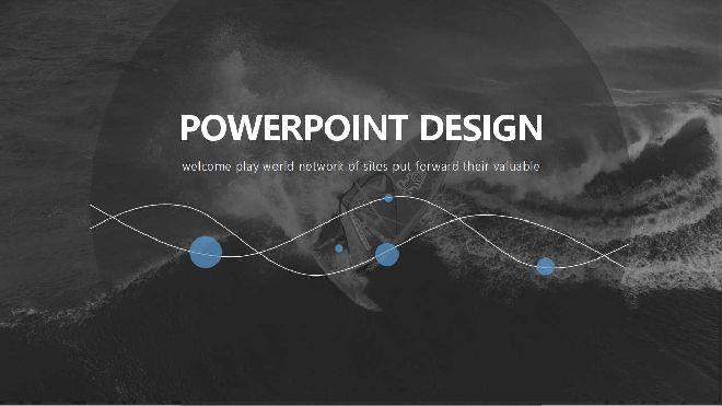 <b>Fashion Sports PowerPoint template</b>
