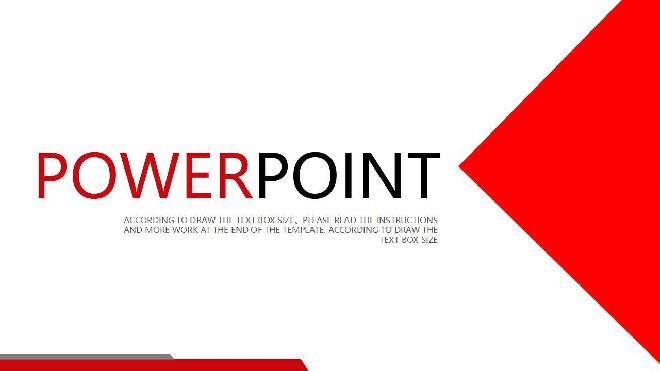 Red Dynamic Powerpoint Template Best Powerpoint Templates