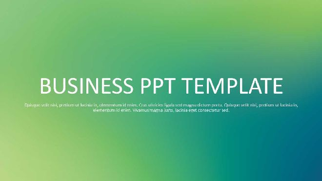 Green Aesthetical Ppt Template Best Powerpoint Templates And