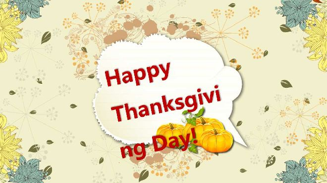 Happy Thanksgiving Powerpoint Template Best Powerpoint