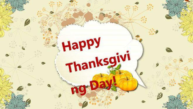 Happy thanksgiving powerpoint templatefree powerpoint templates and happy thanksgiving powerpoint template toneelgroepblik Gallery