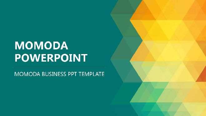 Momoda Business Ppt Template Best Powerpoint Templates And