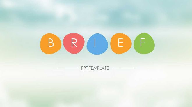 Fresh And Simple Ppt Template Best Powerpoint Templates And