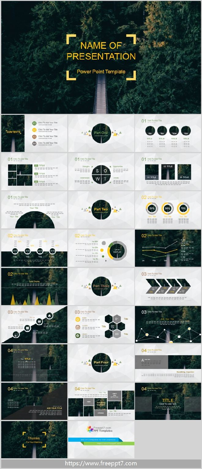 Forest Background Powerpoint Template Best Powerpoint Templates And Google Slides For Free Download