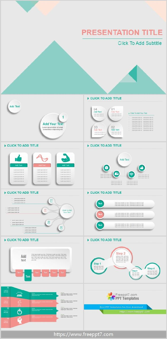 Concise 3d Powerpoint Templatefree Powerpoint Templates And Google