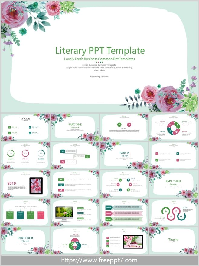 Lovely Fresh Business Common Ppt Templates Free Powerpoint