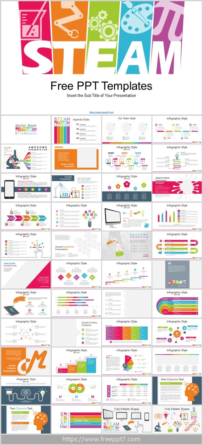 Stem Education Powerpoint Templates Best Powerpoint