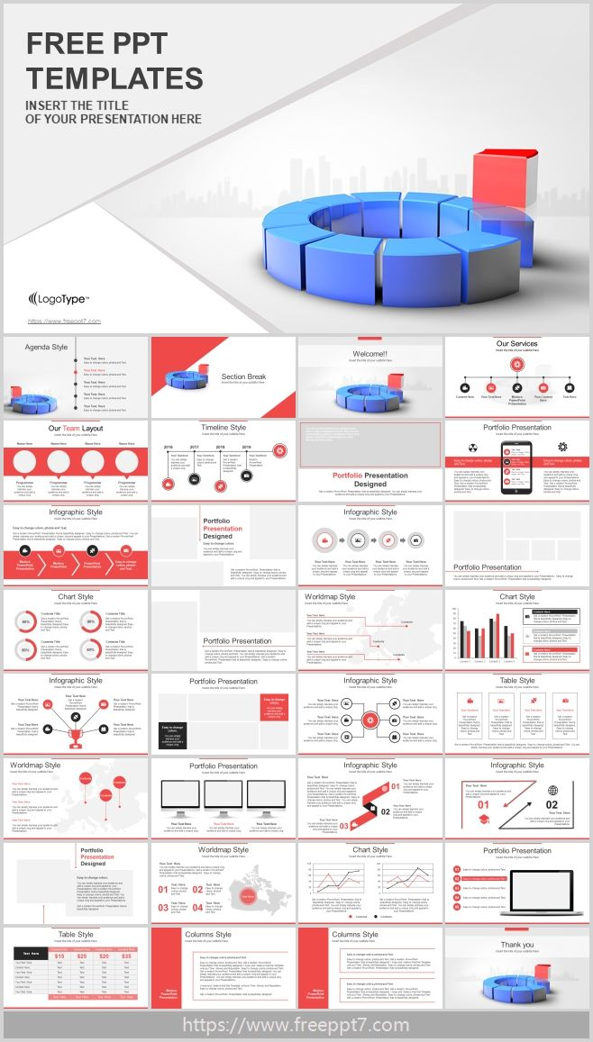 Leadership Business Training Powerpoint Templates Free