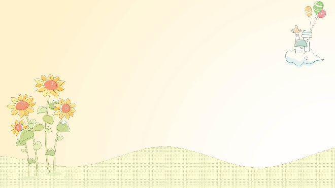 10 Cute Cartoon Illustration Style Ppt Background
