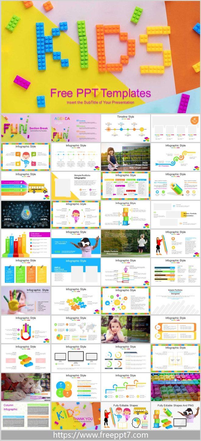 Creative Children Education Powerpoint Templates Best