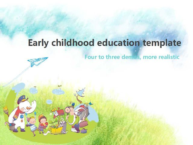 Early childhood education powerpoint templatefree powerpoint new ppt templates early childhood education powerpo toneelgroepblik Gallery