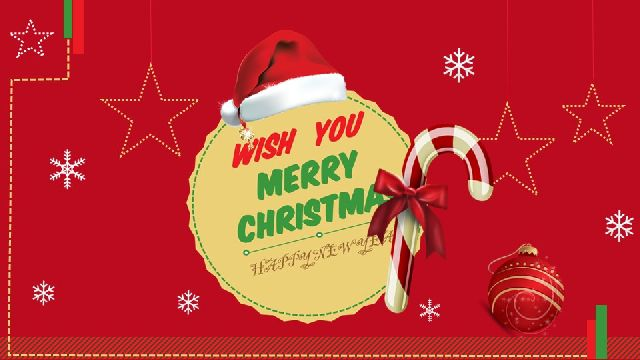 Merry Christmas PowerPoint Template(