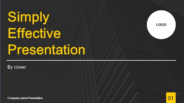Universal Simple PowerPoint Templates