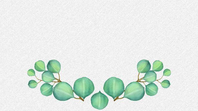 Cartoon Green Leaf Powerpoint Backgrounds Best Powerpoint