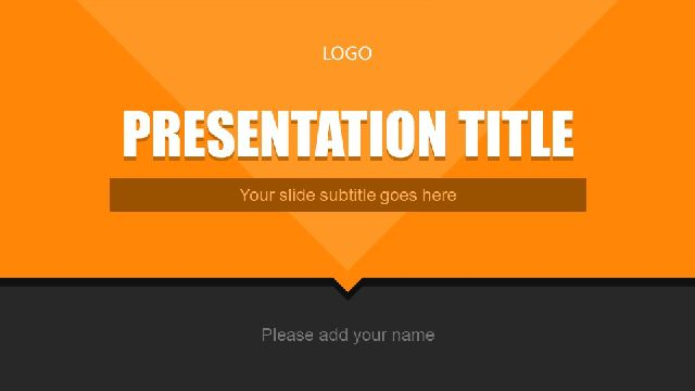 Orange Powerpoint Templates Best Powerpoint Templates And