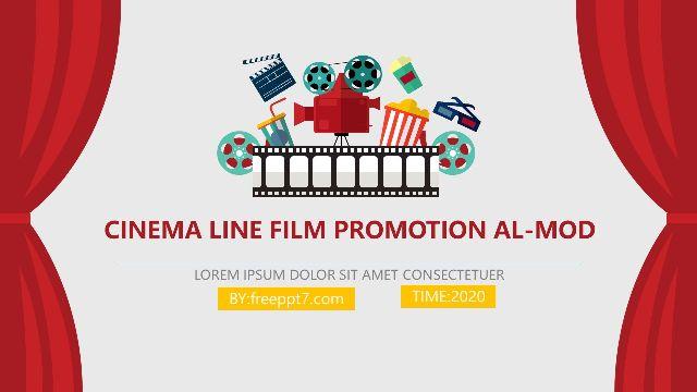 Cinema movie promotion PowerPoi