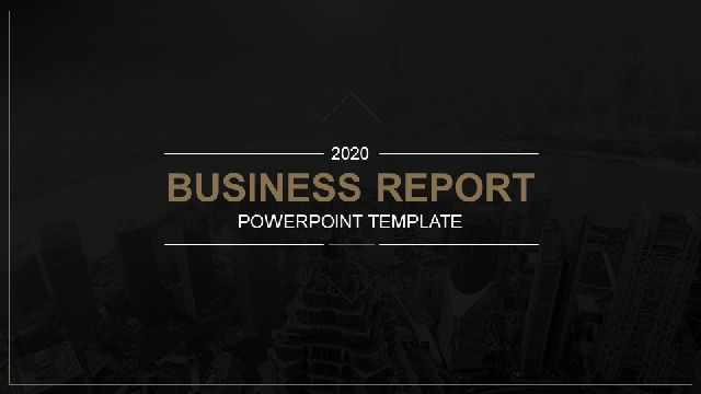Black Gold Business Report Powe