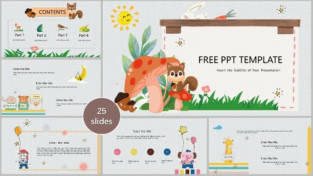 Cartoon Powerpoint Templates Best Powerpoint Templates And Google Slides For Free Download